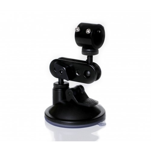 Line laser holder with suction cup