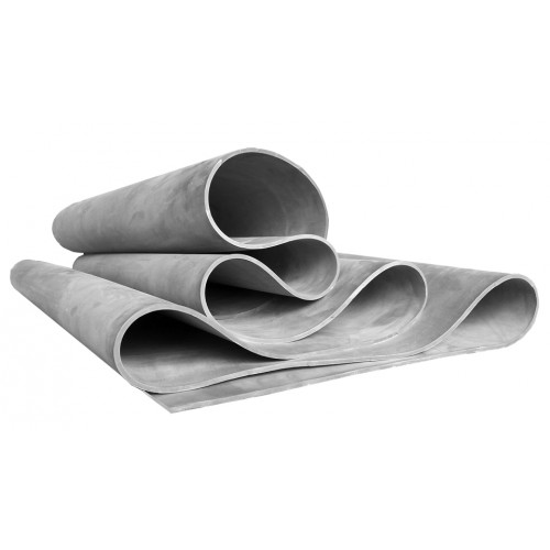 42 Shore A grey Natural NR-3 rubber membrane