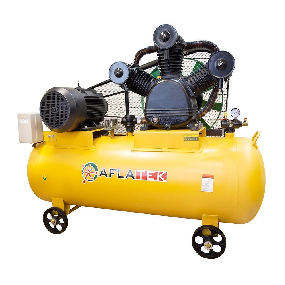 Industrial 500l 7 5kw Reciprocating Air Compressor Aflatek Air500w