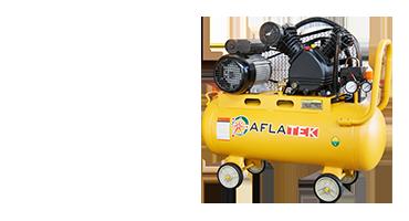 Aflatek Leiser, Kolben- und Schraubenluftkompressoren